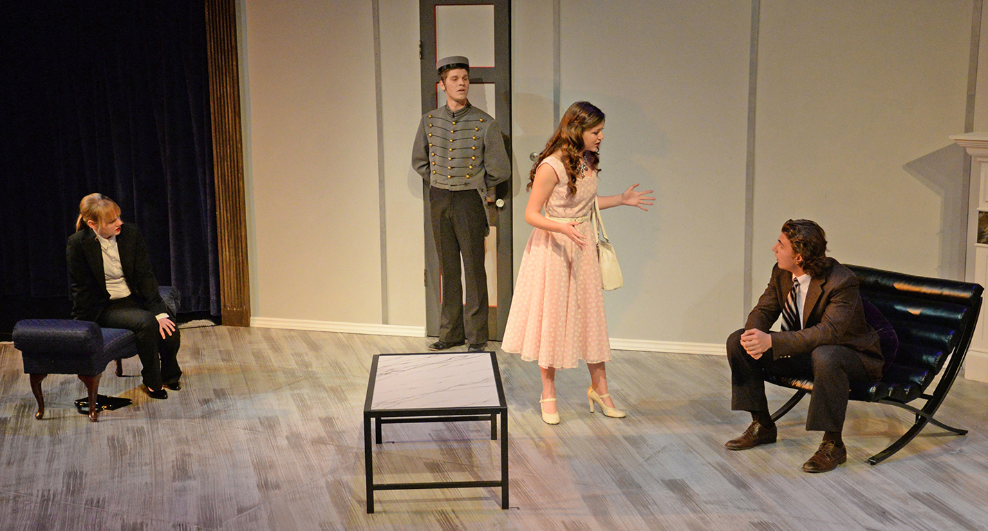 """no exit hell Jean paul sartre's theatrical masterpiece """"huis clos"""" in french (no exit) is an  existentialist nightmare on stage the play was revived recently."""