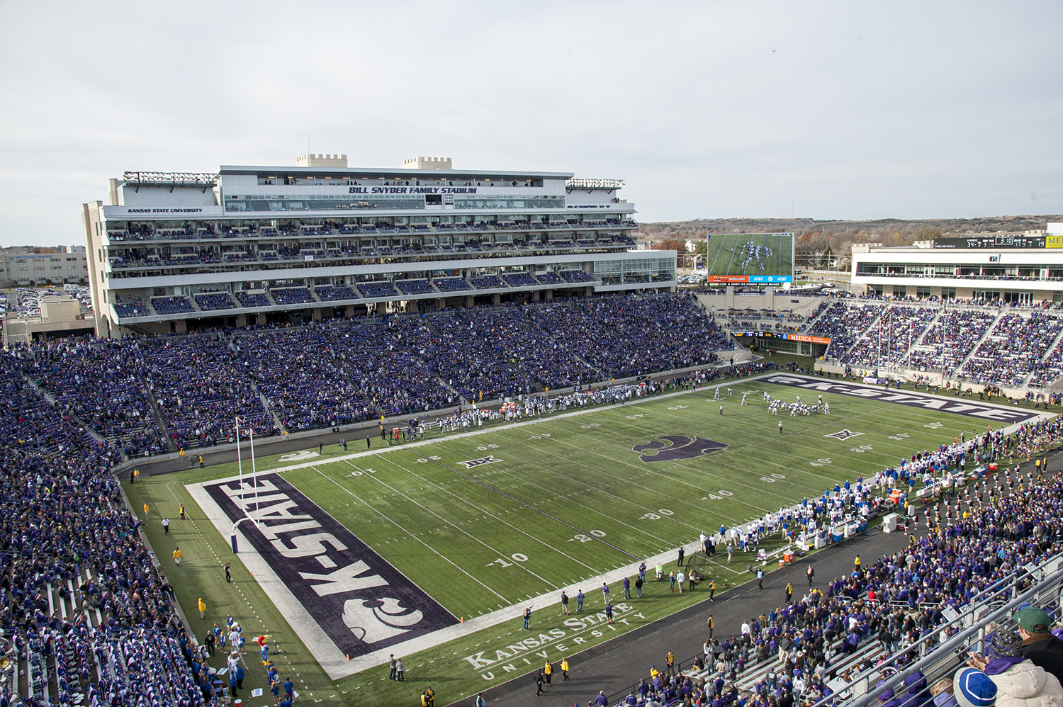 Kansas State Defeats Kansas
