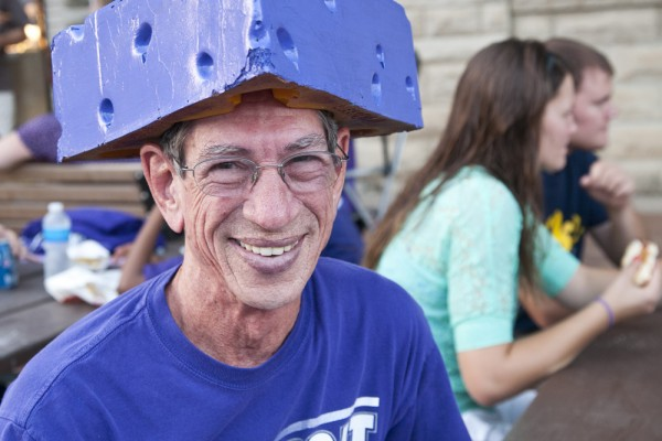 Annual Purple Power Play on Poyntz celebrates return of football season