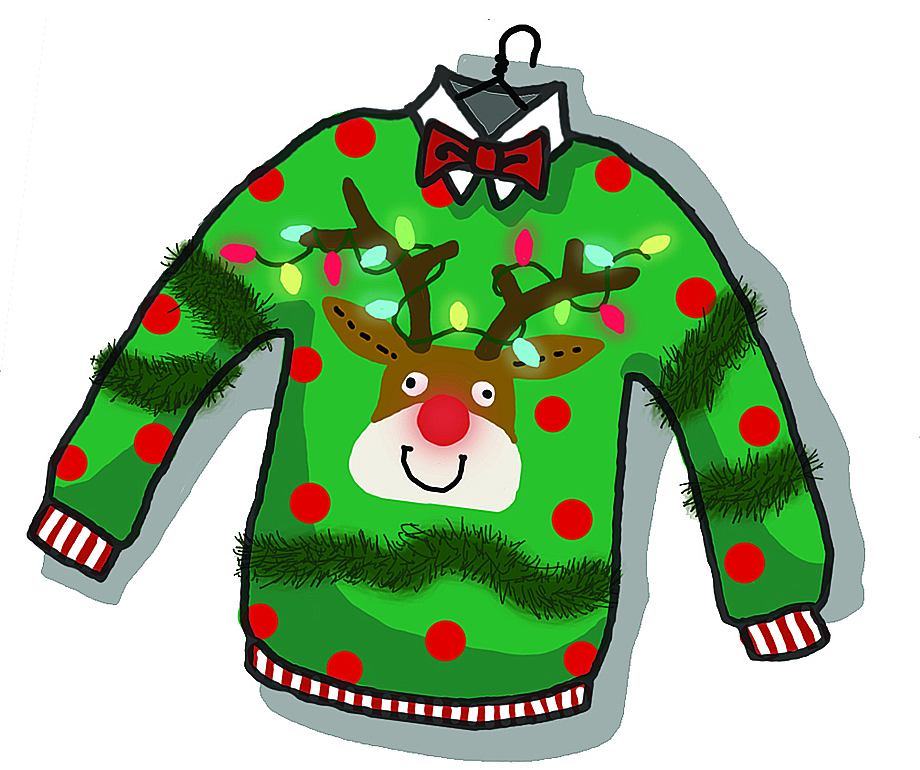 Back  gt  Gallery For  gt  Ugliest Christmas Sweater Clip ArtUgly Christmas Sweaters Clipart