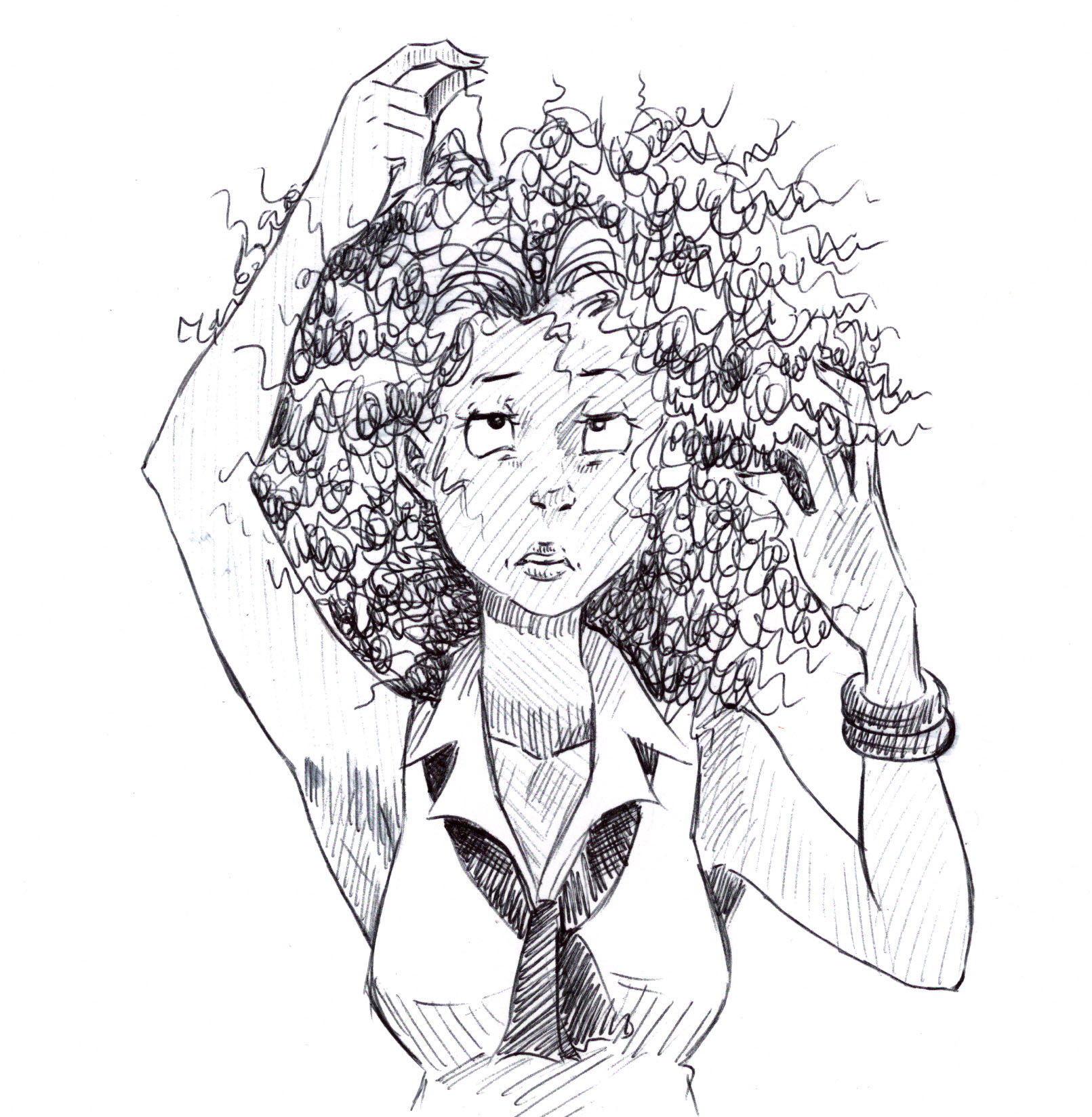 Curly Hair Creates Unique Challenges Requires Extra Time Care
