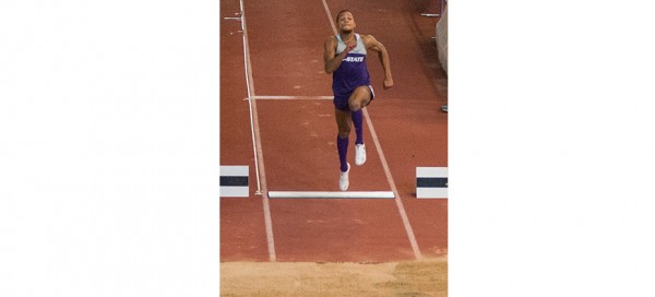 Long jump duo developing into one of Wildcats' biggest strengths