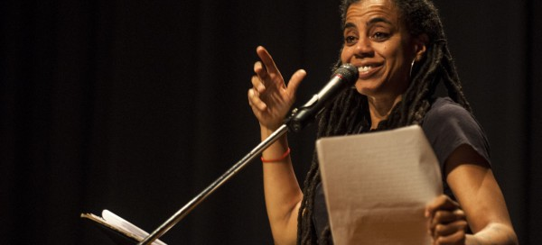 Pulitzer Prize winning playwright speaks about herself, work for Black History Month