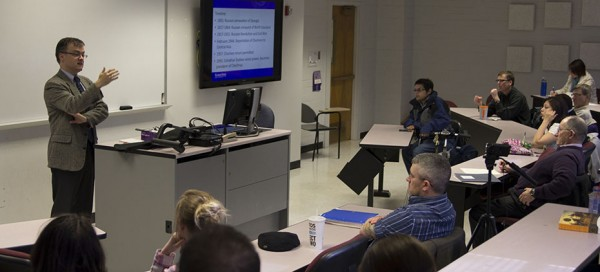 In aftermath of Boston bombings, K-State professor holds lecture on Chechen history