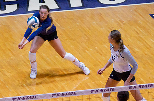 K-State volleyball loses to Iowa State, falls to 1-3 in Big 12 play