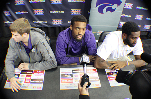 Rule changes, Wiggins dominate discussion at Big 12 men's basketball media day