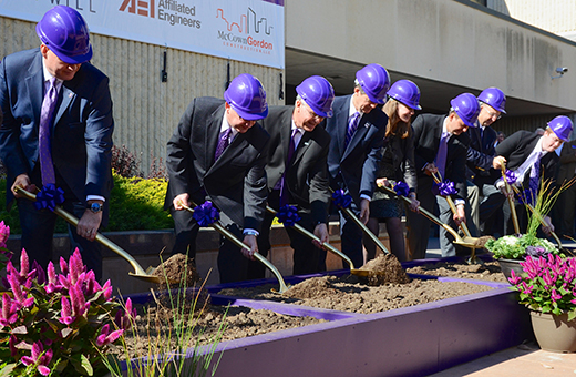 New engineering building breaks ground