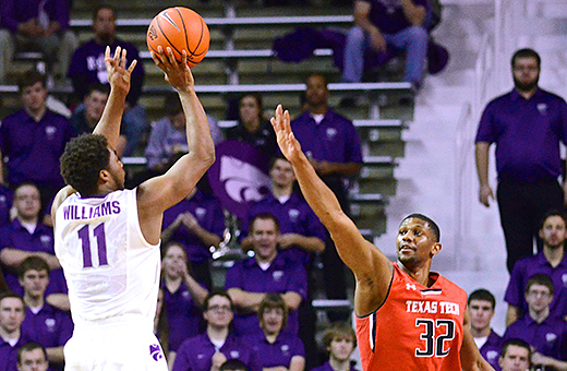 Wildcats grind out win over Red Raiders 66-58