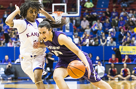 Wildcats stifle Kansas in final minutes to seal 76-68 victory