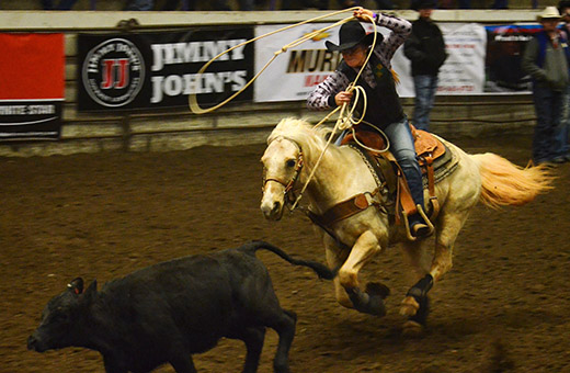 K State Rodeo Club Works Year Round For Annual Rodeo The