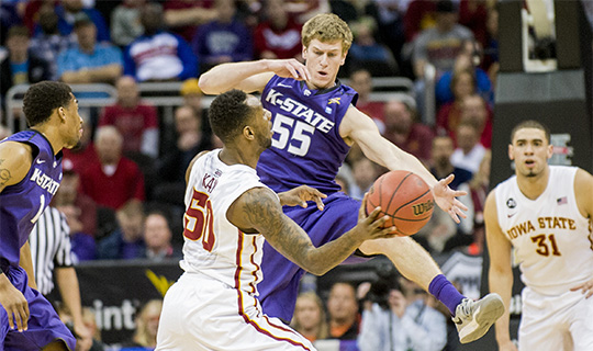 Photos from K-State vs. Iowa State – Big 12 Championship tournament