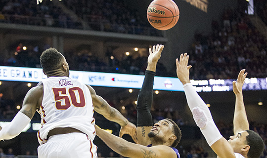 K-State falls to Iowa State 91-85 in Big 12 championship tournament