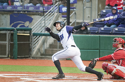 Baseball team heads north for weekend series at Creighton
