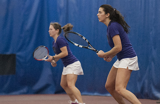 Women's tennis team hits the road for Big 12 openers