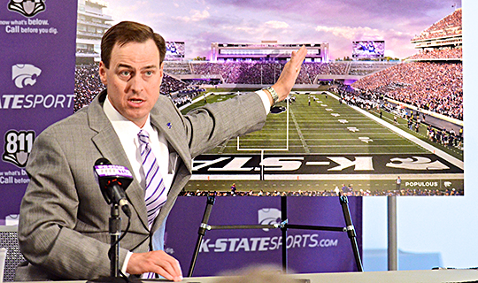 K-State reveals plans for $65 million stadium expansion