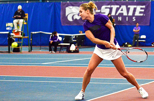 Niedermayerova to conclude K-State career at nationals