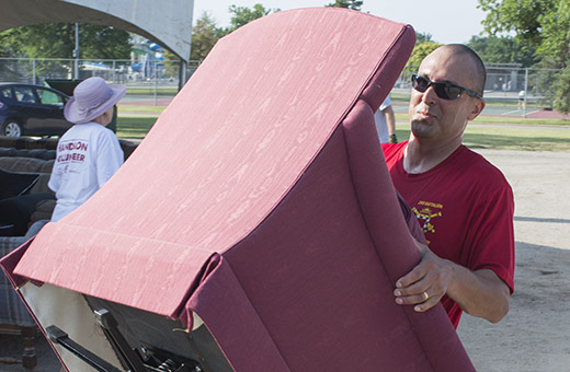 Furniture Amnesty Day helps local households donate, receive furniture