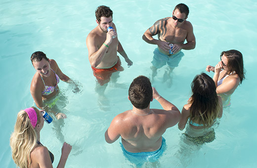 Pool hoppers seek water, find trouble