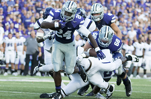 K-State running backs compliment one another well in victory