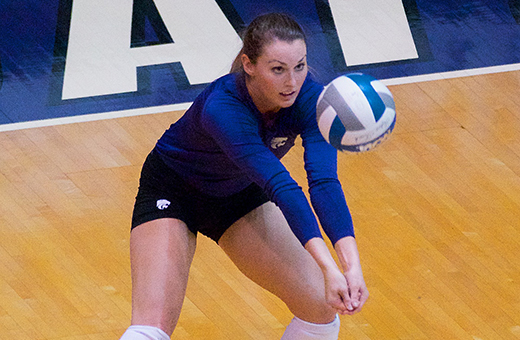 Volleyball opens up 2014 season at Green Bay