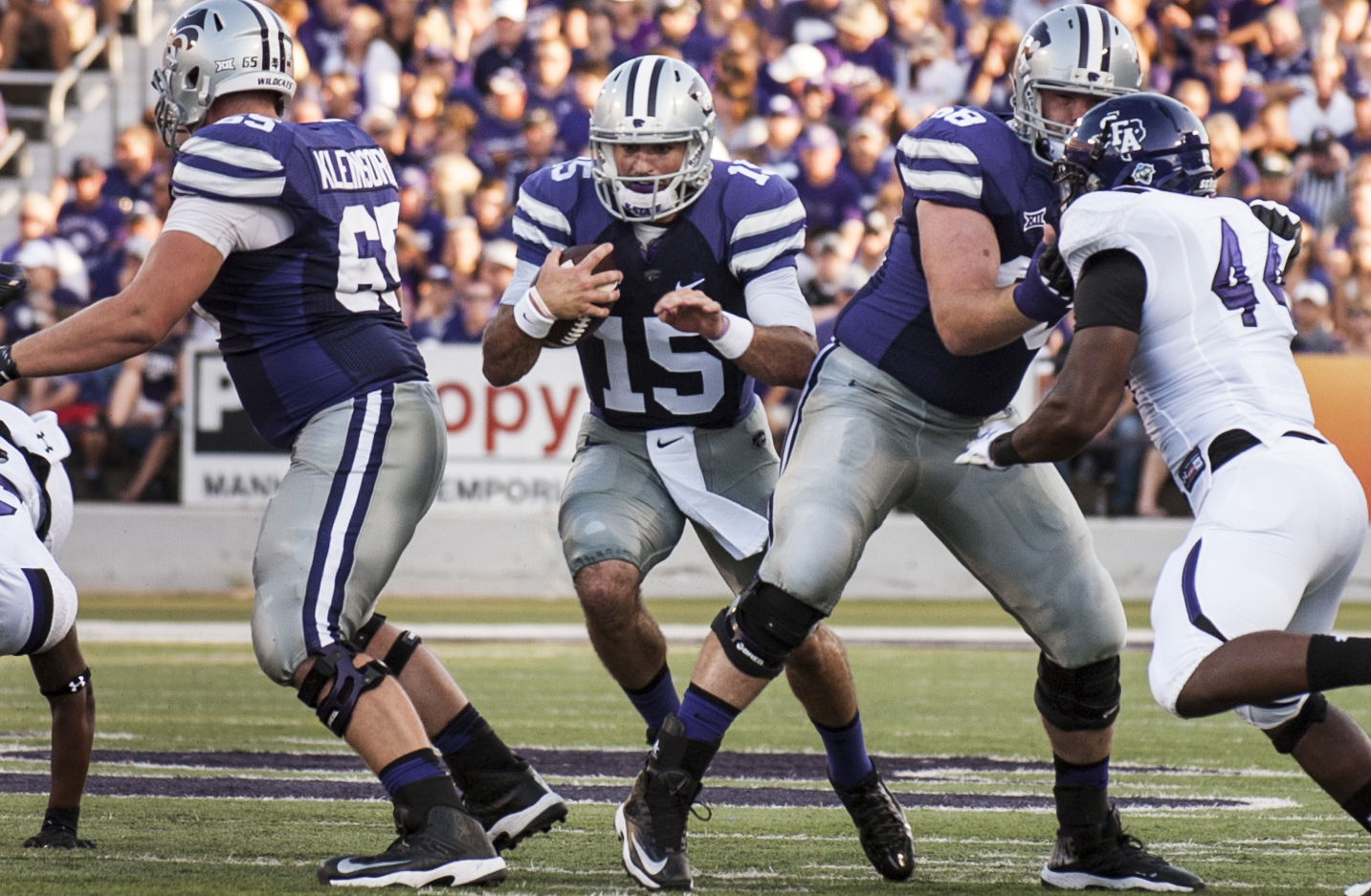 K-State vs Stephen F. Austin in photos