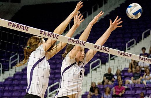 K-State and Kansas volleyball square off in Sunflower Showdown on Wednesday