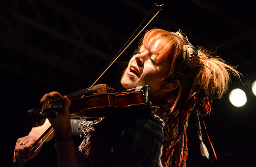 Photos: Lindsey Stirling entertains audience with dubstep violin