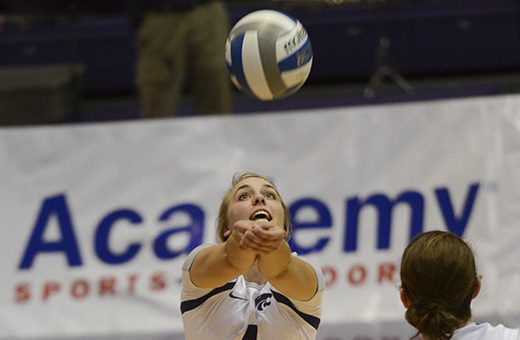 Wildcats chase down Jackrabbits on volleyball court for eighth-straight win