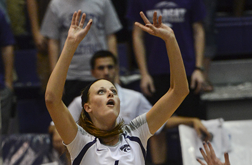 K-State volleyball has the pieces but lacks experience