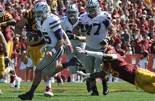K-State thankful to enter first bye week with unscathed record