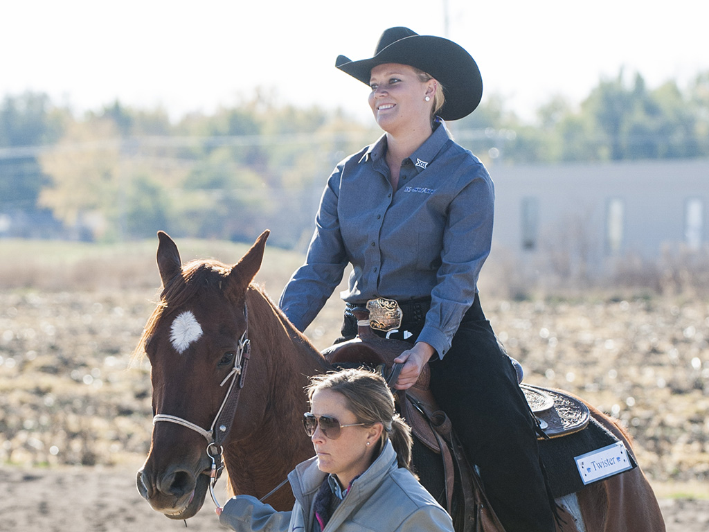 K State Equestrian Team Looks To Face Second Doubleheader The Collegian