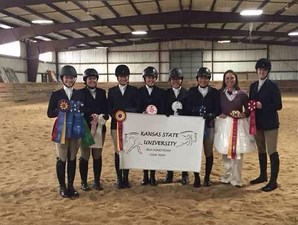 First Year Recreational Equestrian Team Comes Together