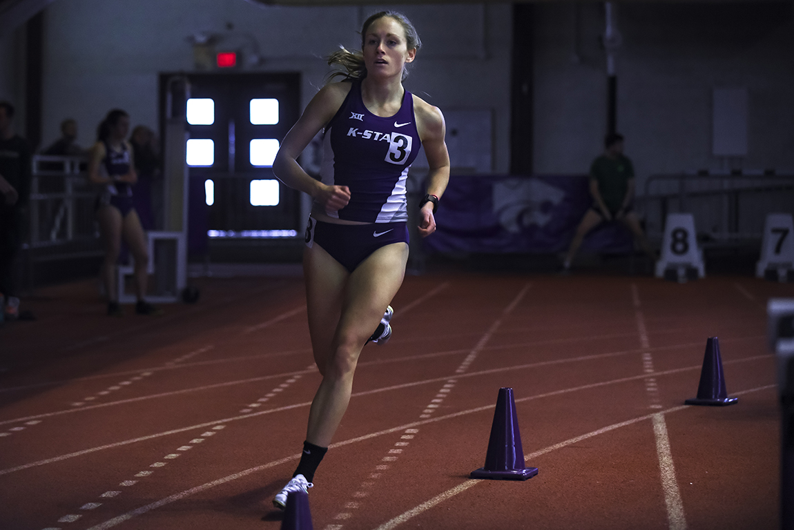 K state track to compete in rock chalk classic the collegian for Classic house track with saxophone