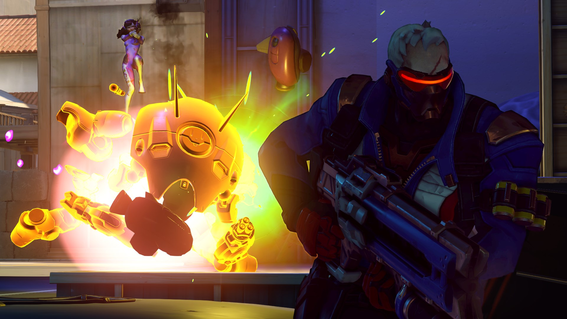 Person With Cat Head >> Overwatch review | The Collegian