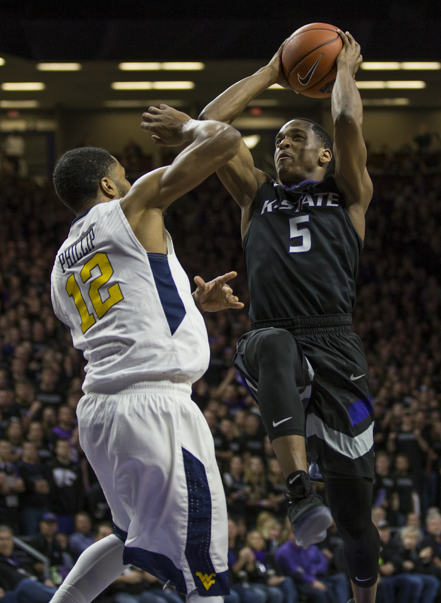 Kansas State Men S Basketball Falls To West Virginia The