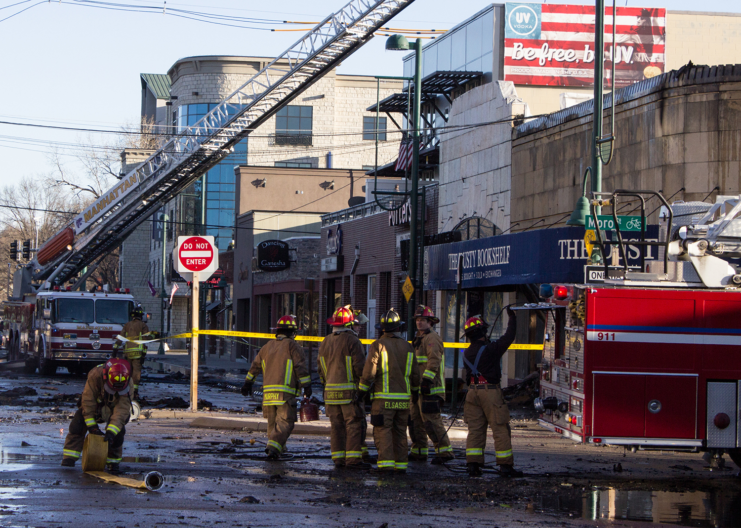 The Fire At Dusty Bookshelf Was Started By Flammable Wood Stain According To Store Owner Diane Meredith Regan Tokos