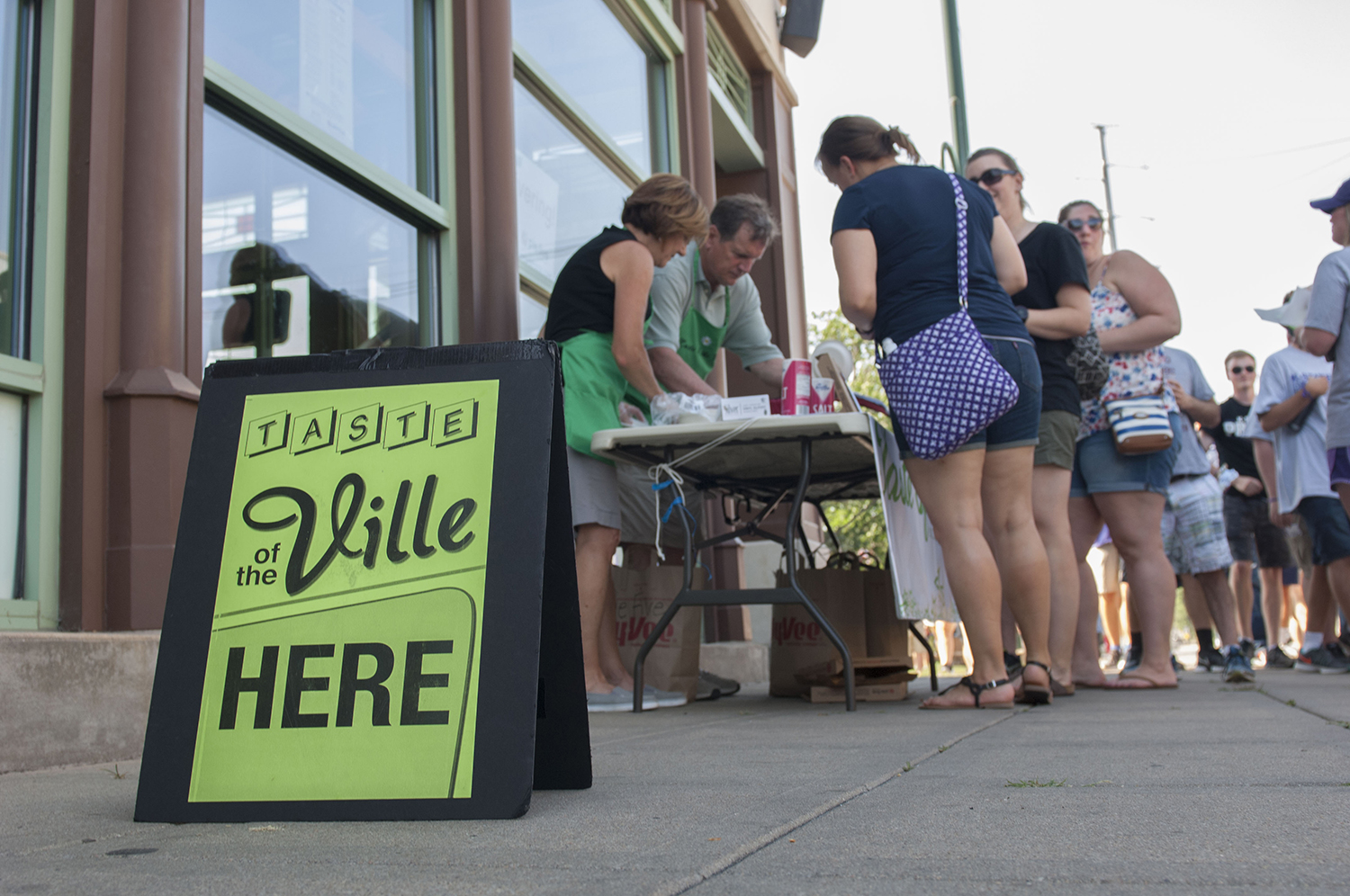 Taste Of The Ville Promotes Community Womens Higher Education
