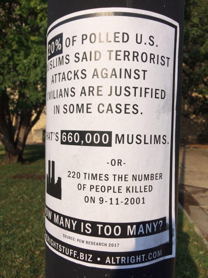 White Nationalist Poster 2