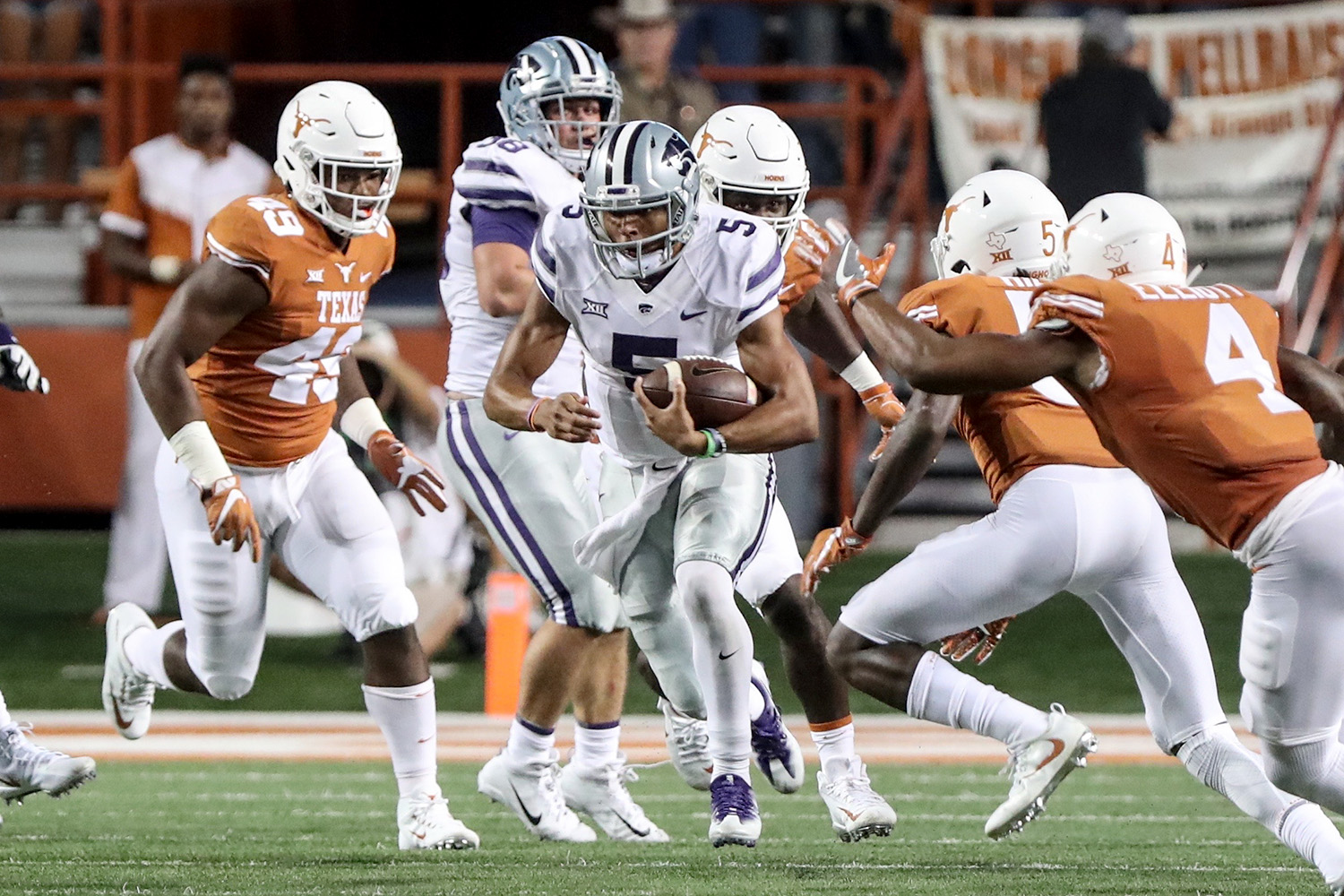 Wildcats Lose To Texas In Double Overtime 40 34 The
