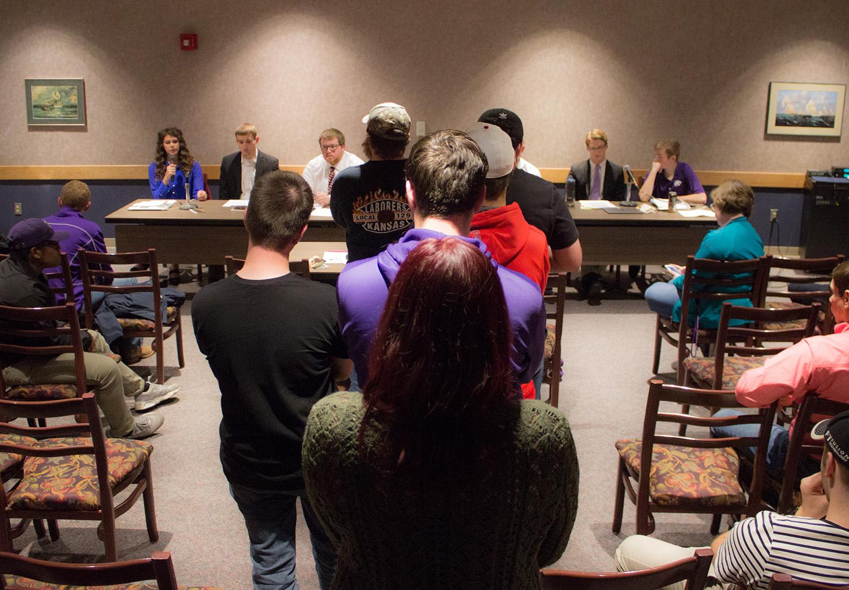 Young Democrats College Republicans Debate Tax