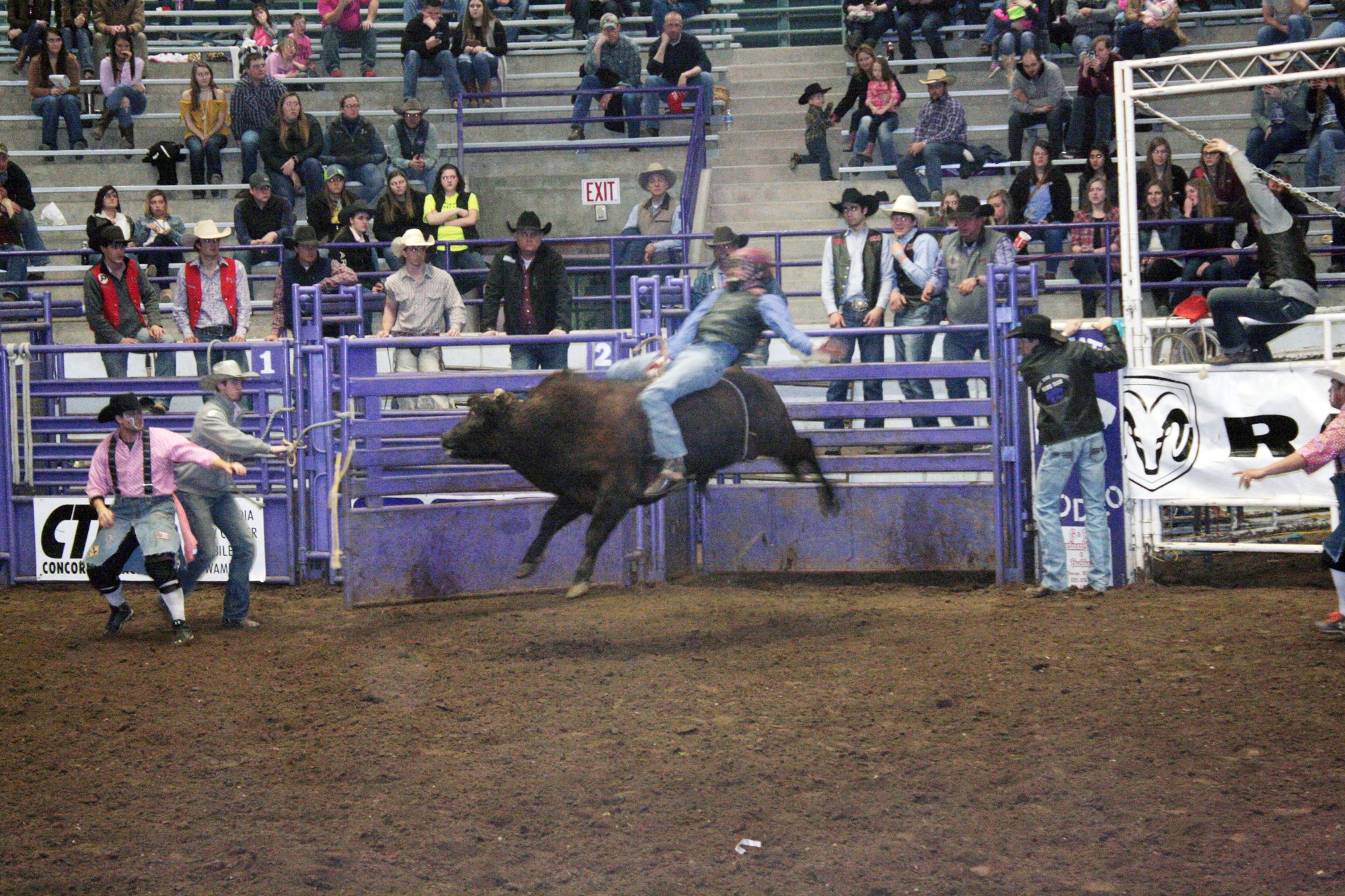Competitors Ride Through The Weekend At 62nd Kansas State