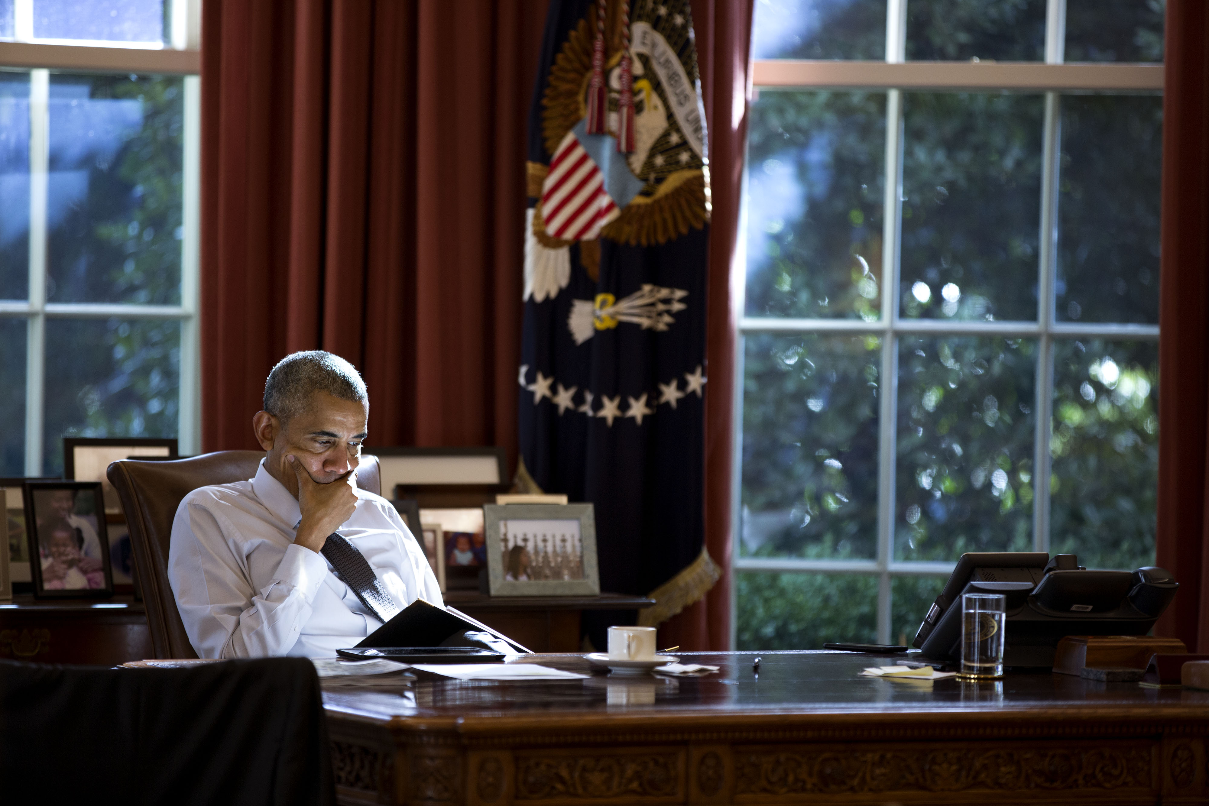 White House photographer, K-State alumnus Pete Souza gets