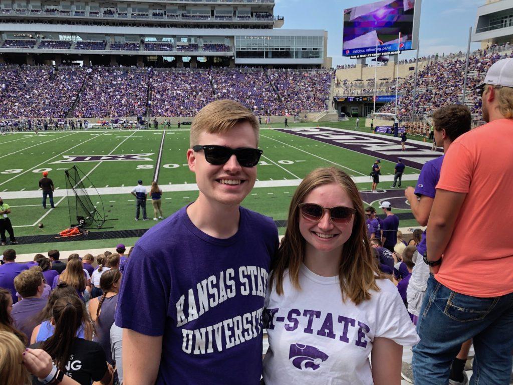 Kate Little and Kooper Holbrook got engaged on Dec. 6, 2019. (Photo courtesy of Kate Little)