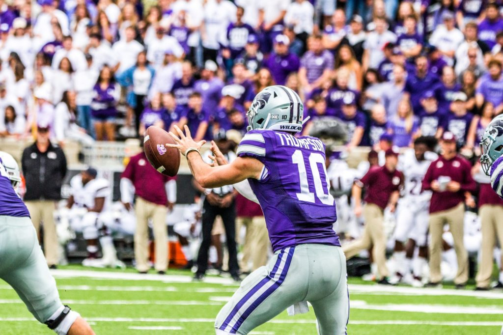 The Wildcats faced off against Mississippi State on Sept. 8, 2018. K-State fell to the Bulldogs 31-10. (Dalton Wainscott Collegian Media Group)