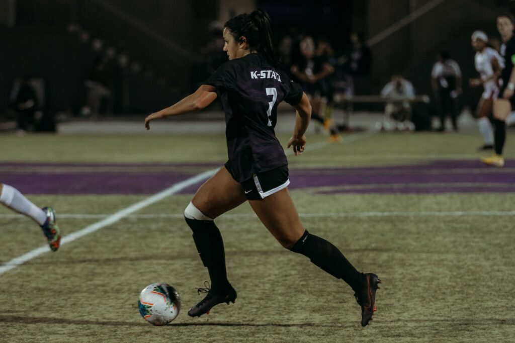 K-State competes against KU on March 7, 2021. (Sophie Osborn | Collegian Media Group)
